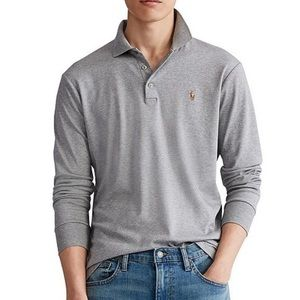POLO Ralph Lauren Soft Touch Long Sleeve Polo